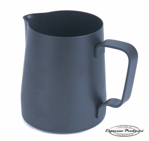 Teflon milk pitcher 340ml Black | Espresso Products