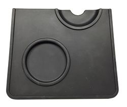 Corner Tamping Mat with Portafilter Holder