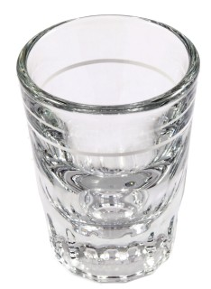 Shot glass 1.5oz(lined)
